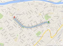 Google Maps Places Api Search For Places Along A Route With Google Maps And Routeboxer