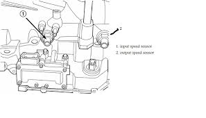 where do you find the speed sensor on a 1998 chrysler sebring