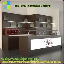 Industrial Style Reception Desk Modern Design Melamine Reception Table Reception Desk Wooden