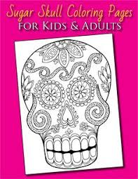 neo traditional styled sugar skull coloring jpg sugar skull