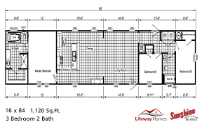 3 bedroom single wide mobile home floor plans tulsa singlewide mobile homes lifeway homes