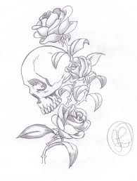 skulls and roses coloring pages bestofcoloring com