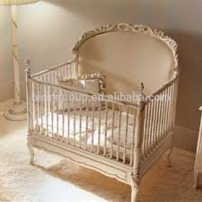 Oversized Bedroom Furniture Royal Baby Custom Made Wood Baby Crib French Style Elegant