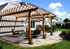 Attaching Pergola To House by Attached Pergola No Ap8 By Trellis Structures