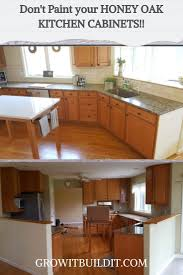 what paint to use on oak cabinets don t paint your honey oak kitchen cabinets honey oak