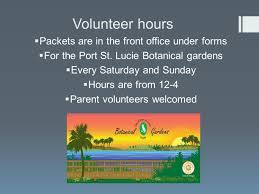 Botanical Gardens Volunteer by Somerset Academy Inc Promotes A Culture That Maximizes Scholar