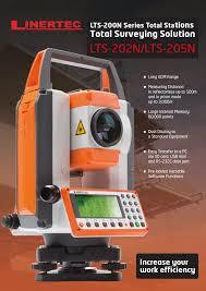 linertech total station lts 202n lts 205n u2013 4s store surveying