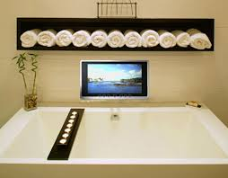 wireless waterproof tv from luxurite a mirror tv as well