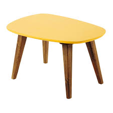 Vintage Coffee Tables by Wooden Vintage Coffee Table In Yellow W 75cm Janeiro Maisons Du