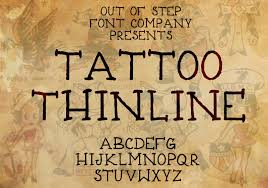 design templates fonts free tattoo fonts tattoo thinline font 1001 fonts fonts pinterest font 1001