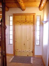 Exterior Pine Doors Trim