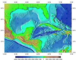 Caribbean Ocean Map by Surface Currents In The Caribbean Sea And Gulf Of Mexico