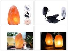ebay himalayan salt l himalayan salt l hand carved with wood base 6 8 inches with 7w