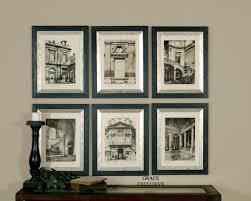 Living Room Art Sets Uttermost Paris Scene Framed Art Set 6 33430