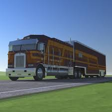 kenworth aerodyne truck truck trailer atds model