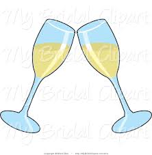 cartoon white wine wine clipart wedding champagne glass pencil and in color wine