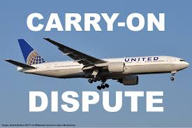 united airline carry on argument over carry on bag leads to arrest of united airlines