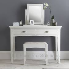 Bathroom Vanity With Makeup Table by British Cane Vanity Dressing Table And Bath Stool In White