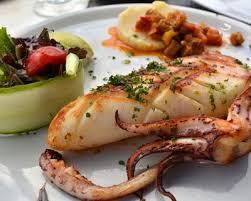 comment cuisiner le calamar recette calmar poélés à l ail et au persil