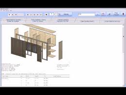 free cabinet design software with cutlist cabinet pro software shop drawings and cut list reports youtube