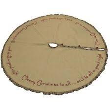 burlap christmas tree skirt burlap tree skirt ebay