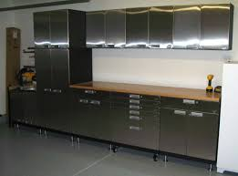 modern kitchen cabinets metal stainless steel wall mounted cabinets ideas on foter