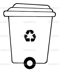 recycling coloring pages recycling bin coloring pages u2013 kids