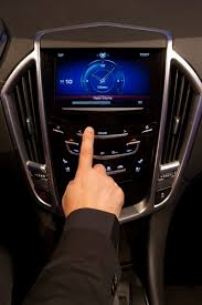 cadillac srx cue system right on cue 2012 cadillac xts ats and srx to get