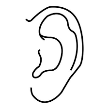 Coloring Page Ear Coloring Page