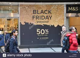 black friday sale sign oxford street london uk 27th november 2015 black friday sale