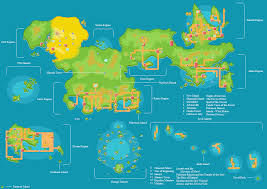 Sinnoh Map Pokemon World Map Besttabletfor Me