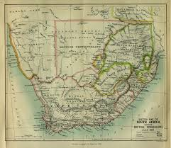 Africa Maps by South Africa Scottish Geographical Magazine 1885 Maps