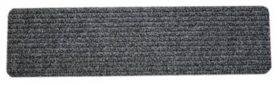Skid Resistant Rugs Dean Carpet Stair Treads Runners Mats Step Covers Dark Gray