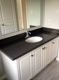 Totally Love This Quartz Countertop In Person It Is A Lot Lighter - Bathroom vanities with quartz countertops