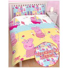 Junior Cot Bed Duvet Set Peppa Pig George Pirate Junior Cot Bed Toddler Set Bedding Queen