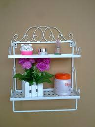 vintage bathroom shelf home design