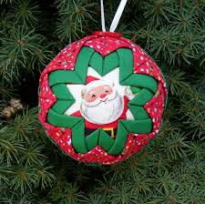 three prairie point ornaments never early for