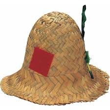 scarecrow halloween costume amazon com rubie u0027s costume co straw hillbilly hat toys u0026 games