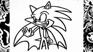 Draw Halloween Como Dibujar A Sonic Halloween Haw To Draw Sonic Youtube