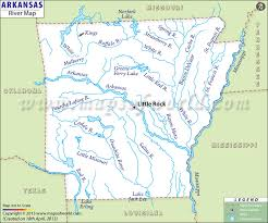 us map with arkansas map of arkansas lakes streams and rivers canadian river wikiwand