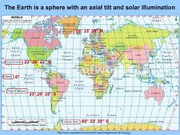 map of equator photoperiodism