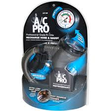 a c pro r 134a recharge hose and gauge walmart com