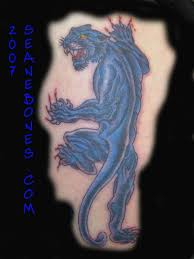 crawling panther tattoo picture