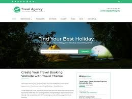 traveling websites images 10 free tour company wordpress themes 2018 themely png
