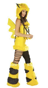 Halloween Costumes Pikachu Festival Handbag Picture Detailed Picture Yellow