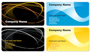Free Business Cards Printing 250 Business Card Template Vectors Download Free Vector Art
