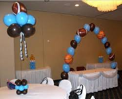 sports themed baby shower decorations delightful ideas sports themed baby shower decorations gorgeous