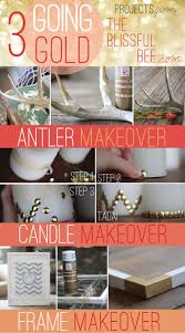 Gold Home Decor Accessories Remodelaholic Simple Diy Gold Home Decor Accents