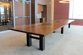 Custom Boardroom Tables Made Reclaimed Oak Custom Conference Table By Cornerstone