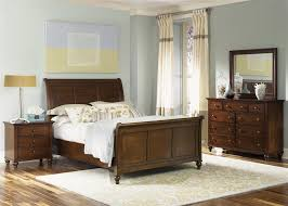 hamilton bedroom set sleigh bed 6 piece bedroom set in cinnamon finish by liberty
